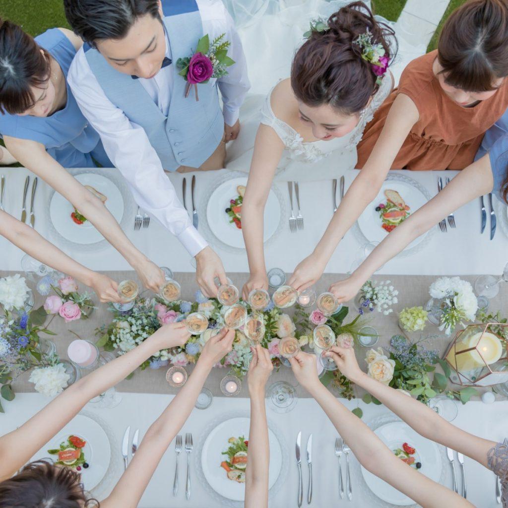 【少人数の家族婚*2~29名】挙式orフォトW+少人数会食